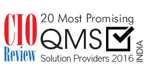 20 Most Promising QMS Solution Providers - 2016